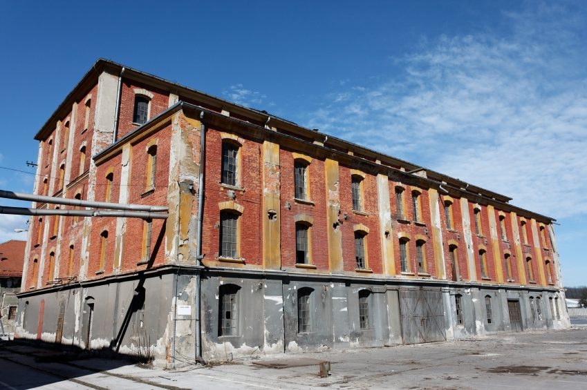 We are interested in abandoned brick buildings for Real Estate Development